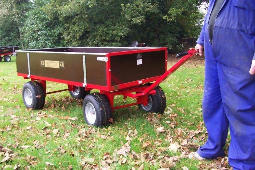 Heavy Duty Four Wheel Timber Trailer